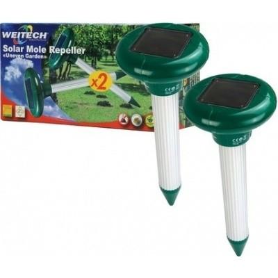 Mollenverjager Weitech Solar 2 stuks