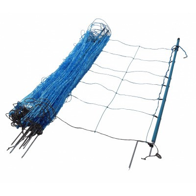 Foto van Wolvennet Gallagher blauw 120cm hoog x 50mtr