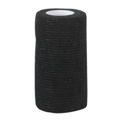 Foto van Zelfklevende bandage Equilastic 10cm zwart