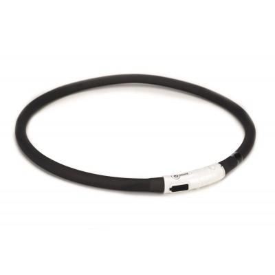 Foto van Hondenhalsband Dogini safety collar met USB aansluiting