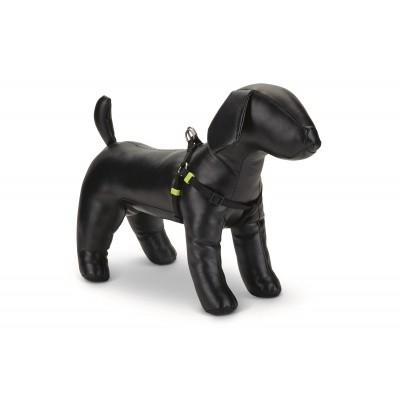 Foto van Honden borsttuig Uni nylon Beeztees zwart