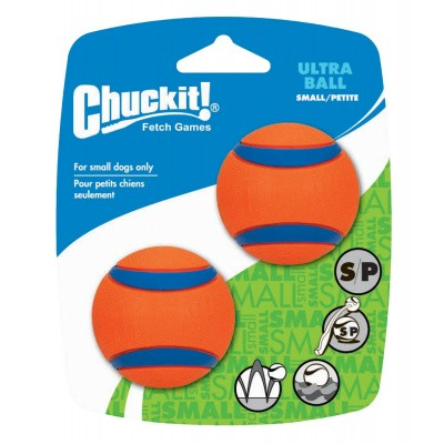 Hondenbal Chuckit Ultra Ball Small 2 stuks