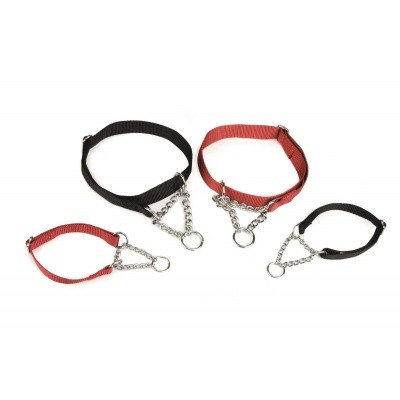 Foto van Hondenhalsband + ketting verstelbaar Beeztees 45-70cm