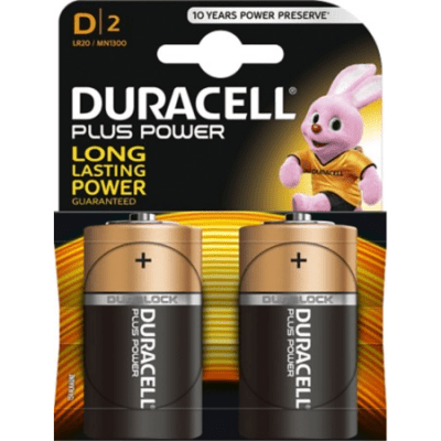 Foto van Batterij Duracell D LR20 2 stuks