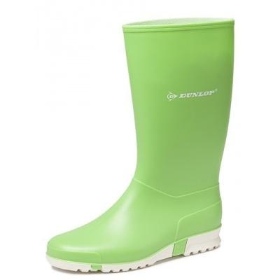 Foto van Dameslaars Dunlop PVC licht groen