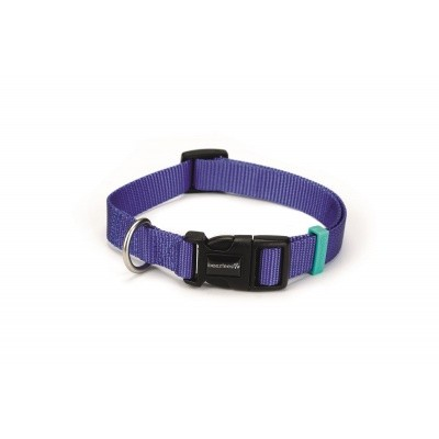 Foto van Hondenhalsband Uni nylon Beeztees blauw