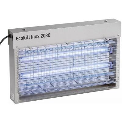 Foto van Ecokill Inox 2030 elektrische vliegenvanger (2x15Watt)