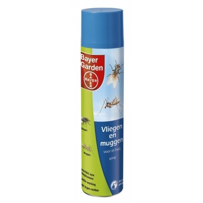 Foto van Vliegen & muggenspray 400ml
