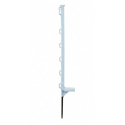 Foto van Horizont kunststof paal Extra wit 6-ogen 75cm