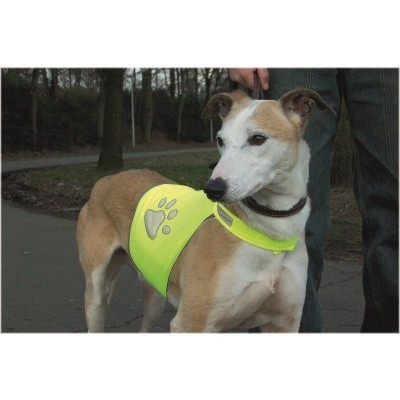 Foto van Honden veiligheidsvest Beeztees geel