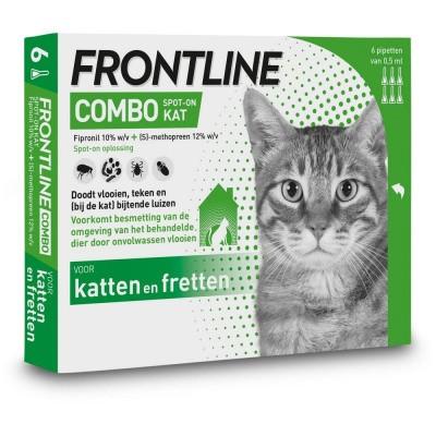 Foto van Frontline Combo spot on kat 6 pipet