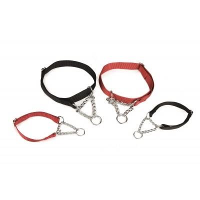Foto van Hondenhalsband + ketting verstelbaar Beeztees 35-50cm
