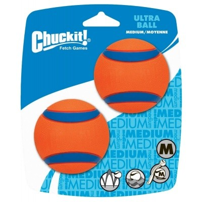 Foto van Chuckit Ultra Ball Medium 2 stuks