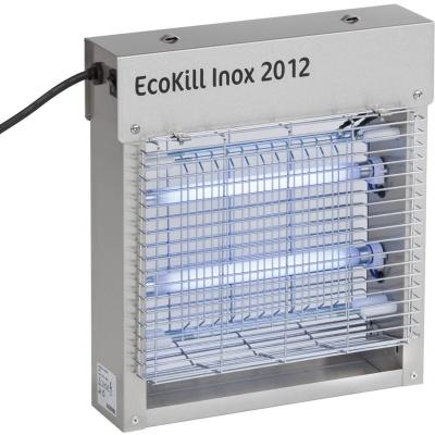 Foto van Ecokill Inox 2012 elektrische vliegenvanger (2X6Watt)