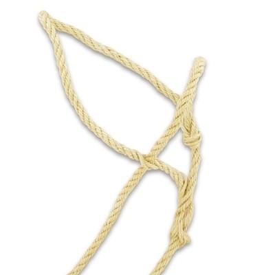Koehalsters sisal met touwtjes