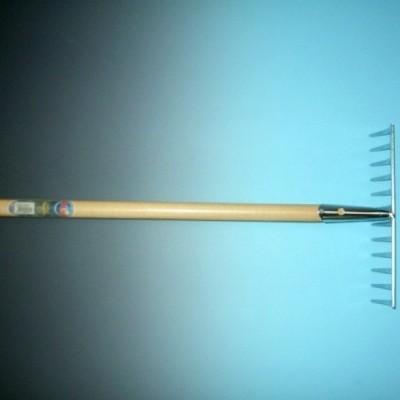 Foto van Tuinhark verzinkt 10 tands met steel 150cm