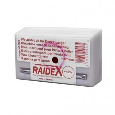 Schapen dekblok Raidex rood