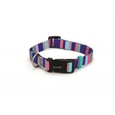 Foto van Hondenhalsband Stripes nylon Beeztees