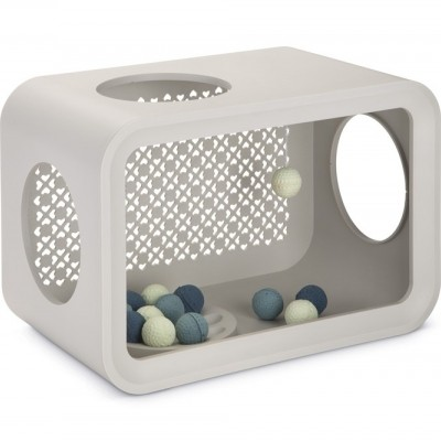 Foto van Beeztees Cat Cube Play Dune Grey 49