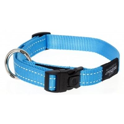 Foto van Rogz Fanbelt halsband turquoise 20mm