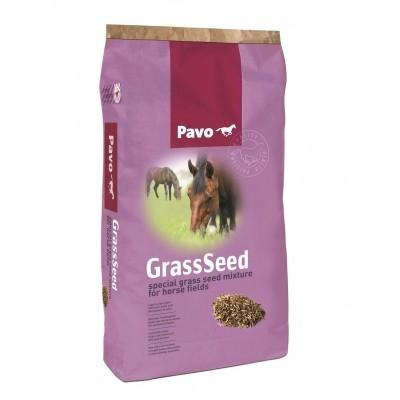 Foto van Graszaad voor paardenweide met kruiden 15kg