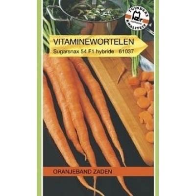 Foto van Vitaminewortel Sugarsnax 54 F1 Hybride Oranjeband