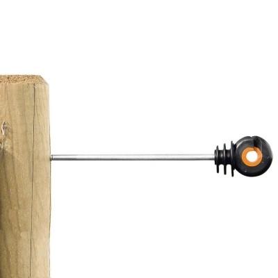 Foto van Afstandschroefisolator Gallagher XDI hout 18cm (10 stuks)