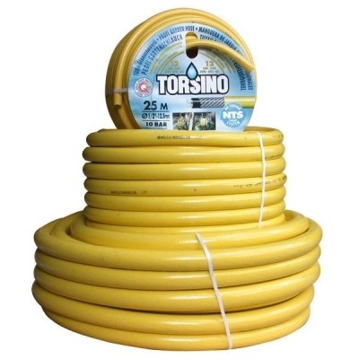 Waterslang / tuinslang Torsino geel 19mm (3/4 inch) 25mtr