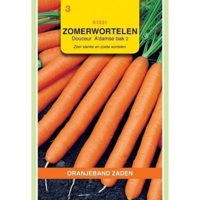 Foto van Zomerwortelen Amsterdamse Bak 2 Douceur Oranjeband