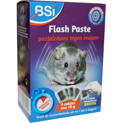 Foto van Flash Paste muizengif 4x10gr