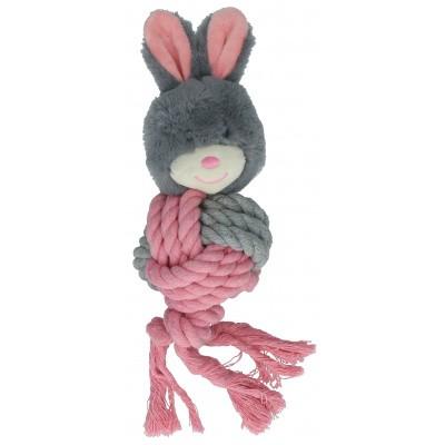 Foto van Hondenspeeltje Bunny Puppy Ropey ball