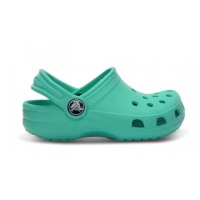 Crocs clog classic kids island green