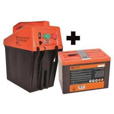 Gallagher B35 schrikdraadapparaat Nu met gratis batterij!