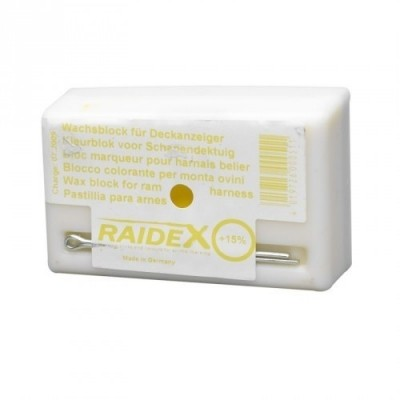 Foto van Schapen dekblok Raidex geel