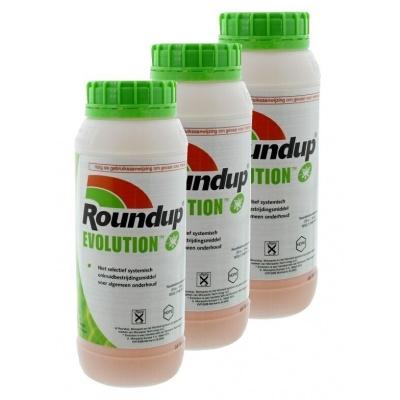 Foto van Roundup Evolution 3 x 1ltr