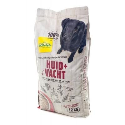 Ecostyle hondenvoer Huid en Vacht 12kg