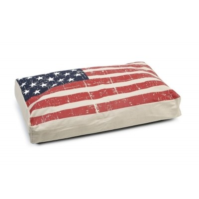 Foto van Ligkussen Beeztees Stars and Stripes 70X45X10