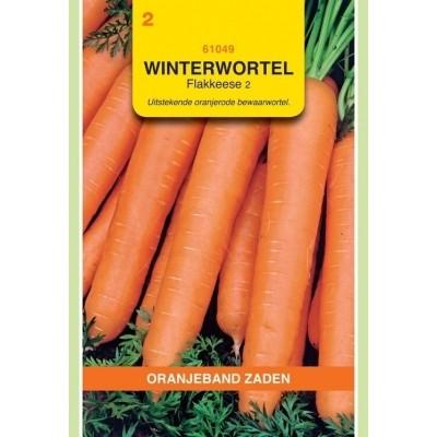 Foto van Winterwortelen Flakkeese 2 Oranjeband