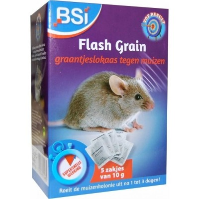 Foto van Flash Grain muizengif 2x50gr