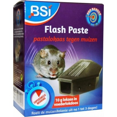 Foto van Flash Paste muizengif in lokaasdoos 2x10gr