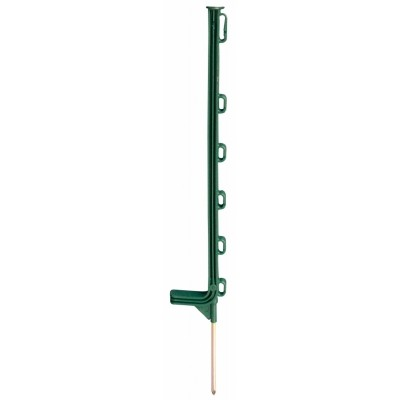 Foto van Horizont kunststof paal Extra groen 6-ogen 75cm 10 stuks