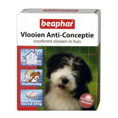 Foto van Beaphar vlooien anti conceptie hond 6.8 - 20kg