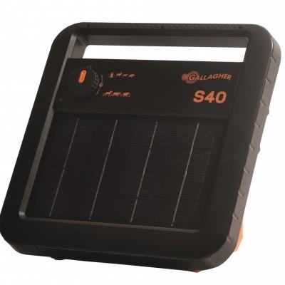 Foto van Schrikdraadapparaat Gallagher solar (zonne-energie) S40 inclusief accu.