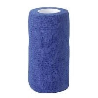 Foto van Zelfklevende bandage Equilastic 10cm blauw