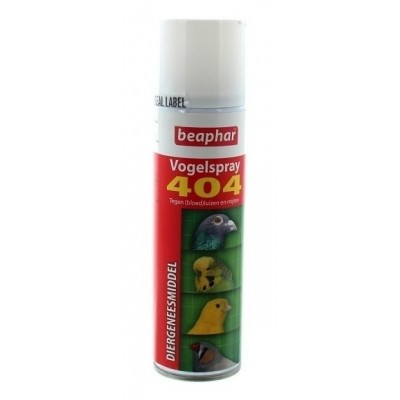 Foto van Vogelspray 404 bloedluis/insecten 500ml