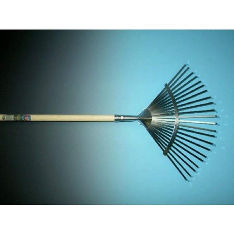 Bladhark metaal verzinkt 22 tands, met steel 150cm