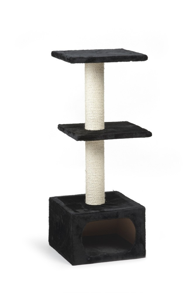 Beeztees krabmeubel Dora zwart 38x38x91cm