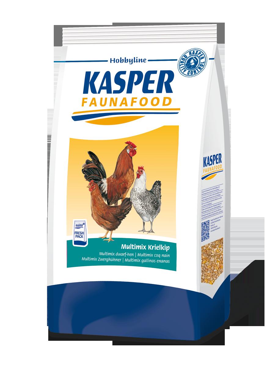 Multimix krielkip Kasper Faunafood 4kg