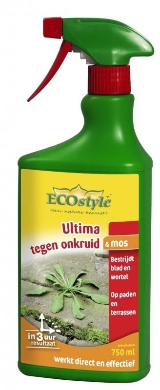 Ecostyle Ultima onkruid & mos gebruiksklaar 750 ml