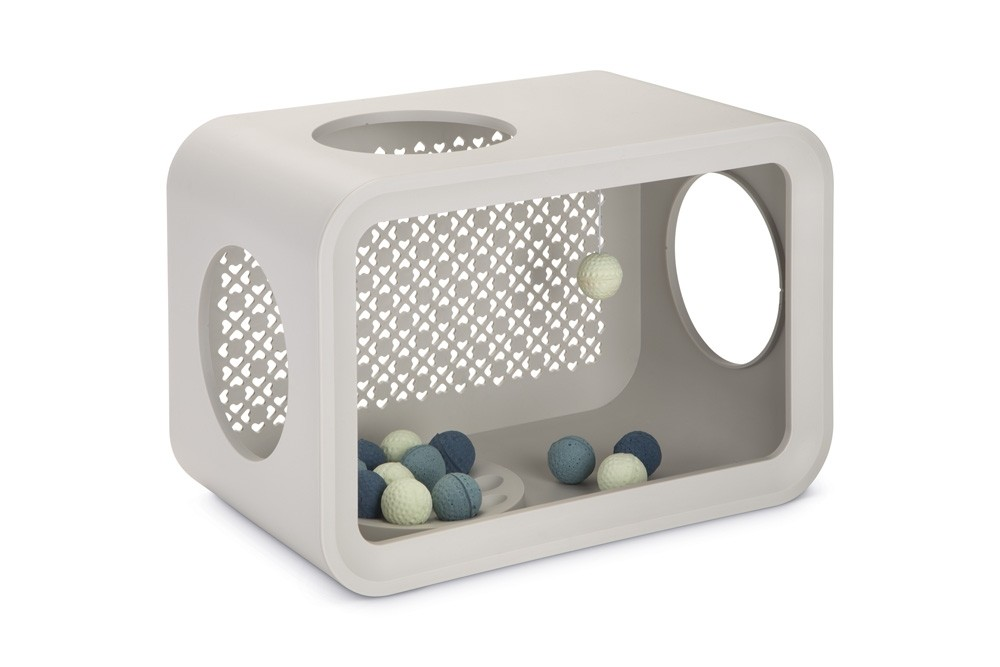 Beeztees Cat Cube Play Dune Grey 49